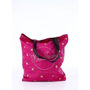 Marc Jacobs Pink Star Packable Shopper Tote New